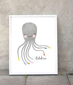 Octopus Print at www.obtaindesign.com.au