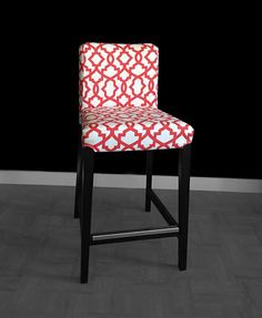 IKEA HENRIKSDAL Bar Stool Chair Cover  Sheffield Lava Red by RockinCushions