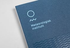 Love the logo and identity for Norway's Meteorologisk Institutt by Neue - great review @UnderConsideration