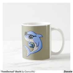 """Fintellectual"" Shark! Coffee Mug"