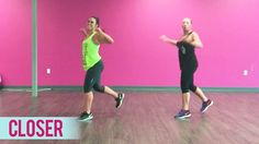 """Get ready for squats in this dance fitness routine to """"Closer"""" by The Chainsmokers featuring Halsey. Thanks for watching! SHARE with your friends and COMMENT..."""