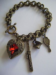 Shadow Hunter bracelet- Mortal Instruments OMG!!! It has the cup, the sword and the mirror!! I NEED THIS!!