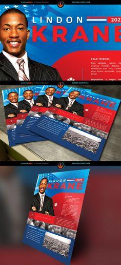 Gospel Flyer Template Flyer Templates $800 Flyer Templates - political brochure