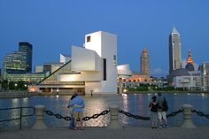 Rock n Roll Hall of Fame, Science Center, The Waterfront, Tower City, BP Bldg,Key Center, and on and on..Cleveland Rocks!