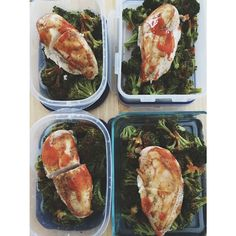 """Lunches prepped for the week!! Simple, filling, and tasty! Gotta fuel this MACHINE with optimal nutrients! #21dayfixapproved #21dfx #mealprep #mealideas #highprotein #lowcarb #countdowntocompetition #prep #beachbody #teambeachbody #coach #eatclean #trainmean"" Photo taken by @fullheartwellness on Instagram, pinned via the InstaPin iOS App! http://www.instapinapp.com (03/03/2015)"