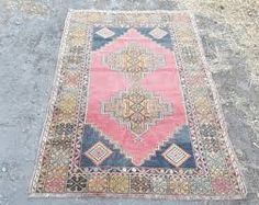 Image result for Overdyed Hand Knotted Turkish Oushak Rug pink fuschia