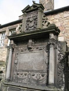 """Greyfriars Kirkyard in Edinburgh, Scotland and the Covenanter's Prison: Many Presbyterians in support of the """"National Covenant"""" were imprisoned, died, and were buried here."""