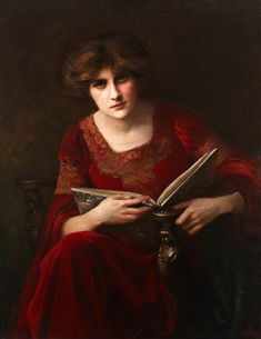 The Athenaeum - Lady in Red (Beatrice Offor - No dates listed)