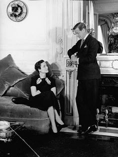 Wallis Simpson and Kind Edward VIII.