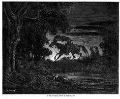 Don Quioxte Daniel Vierge | Don Quixote - Gustave Dore