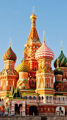 Saint Basil's Cathedral, Moskou Places Around The World, Oh The Places You'll Go, Travel Around The World, Great Places, Places To Travel, Travel Destinations, Places To Visit, Around The Worlds, We Are The World