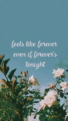 Feels like forever even if forever's tonight, Bazzi