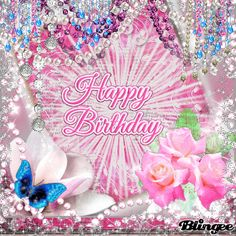 Birthday Greetings For Sister, Happy Birthday Wishes Cards, Bday Cards, Happy Birthday Quotes, Birthday Greeting Cards, Happy Birthdays, Photo Editor Free, Glitter Graphics, Get Well Cards