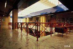 Biblioteca Municipal do Seixal (Portugal) Portugal, Bookstores, World, Public Libraries, Fotografia