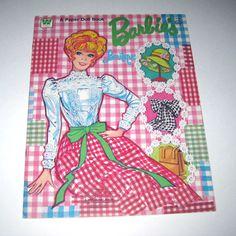 Vintage 1970s Barbie's Boutique Paper Doll by grandmothersattic, $12.95