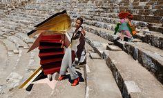 Joan Smalls by Viviane Sassen for Missoni Fall/Winter Campaign