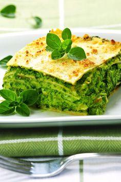 Lasagnes vertes Chile Poblano, Pasta Casera, Meatless Monday, Avocado Toast, Guacamole, Quiche, Cooking Recipes, Breakfast, Ethnic Recipes