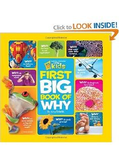 Little Kids First Big Book of Why... for kids who always ask why and always want to know more