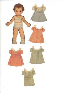 Queen Holden Paper Dolls 15. incl. doll with arm reattached by BARBARAJEAN, via Flickr