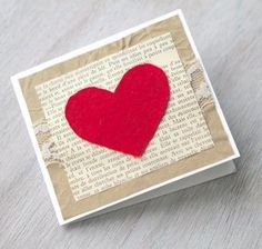 Paper Crafts to Warm Your Heart