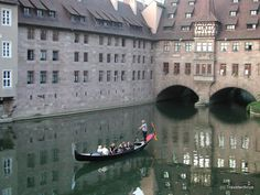 While my visit at Nuremberg I was told there is one man with a licence for a gondola. After some hours watching the river in the middle of the city I was able to catch him on a photo. The … Continue reading → Germany And Italy, Visit Germany, Germany Travel, European Vacation, European Travel, Places To Travel, Places To See, Places Around The World, Around The Worlds