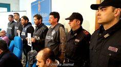 La Squadra mobile di Perugia sgomina una banda di ladri, colpivano anche nel derutese e marscianese [foto e video]