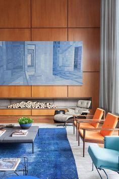 Casa de luxo - cores e toque contemporâneo