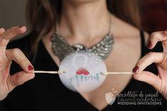 Wedding invite - Invitación de boda - M&D