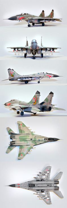 MIG 29A Fulcrum 1/48 Scale Model