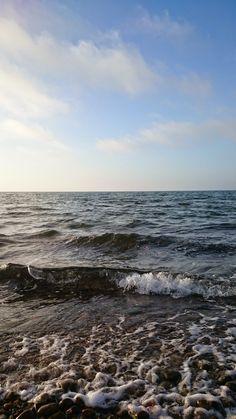 Waves of Öresund.