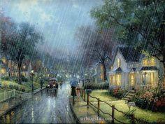 Raining outside. Thank God for the beautiful rain!