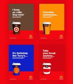 McDonalds Chocolate Drinks New Design – Fubiz™