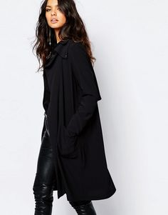 Image 1 of Y.A.S Media Soft Trench Coat
