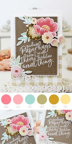 Paper Hugs by Melissa Phillips for Papertrey Ink