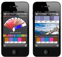 Conoce myPANTONE  Descubre esta aplicación desarrollada que ayuda a crear y compartir gamas de colores con otros usuarios. Y además permite extraer colores de cualquier imagen almacenada en el dispositivo, con el fin de elegir colores individuales e igualarlos con los colores Pantone.
