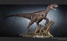 Utahraptor by ~Swordlord3d on deviantART