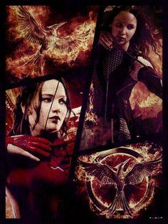 Tribute von Panem Katniss Everdeen Collage