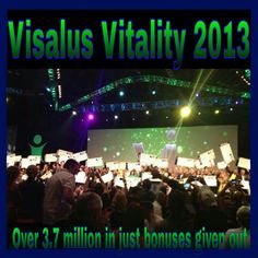 Vitality in Orlando was mind blowing to say the least. Watching the stories people who stayed focused, children the challenge helped, the children's hospital becoming part of our organization, BMW making a contract with our company, the launch of our Super Protein cereal, close friends and family breaking wide open and achieving new ranks. This year will you get your chunk of the 3.7 million handed out? It might be double that the way things are going!!!! #hustle #fearless #dreams…