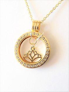 #lotusflower #lotusnecklace #momjewelry #floatinglocket #mothersdaygift #mothersdayidea #bridaljewellery #yoga #rhinestone #valentinesdaygiftideas