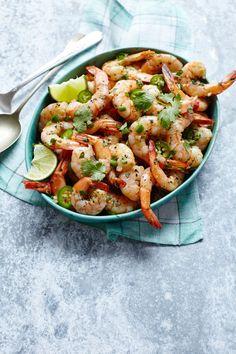 Sammy Hagar's Spicy Tequila Shrimp