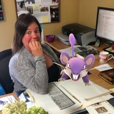 Watch out for the Rattata Melissa! Read our latest blog which explains why a rodent like Rattata shouldn't be in our curator's office. Oshawamuseum.wordpress.com  #Oshawa #oshawamuseum #pokemongo #pokemuseum #museumlife