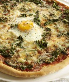 ~ Instant dinner: Pizza Florentina http://www.ivillage.com/dinner-dime-pantry-based-recipes/3-b-325724#325732