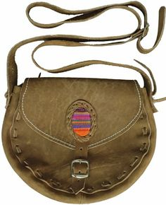 Ladies Suede Shoulder Bags