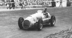 1949 zandvoort gp - alberto ascari (ferrari 125) heat 2 2nd, final dnf ...