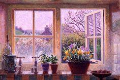 Stephen Darbishire 1940 | British Interiors and Landscape painter