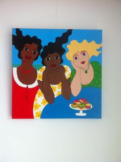 Me & my friends (Trudy Canwood painting)
