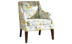 Hindell Park - Putty Accent Chair