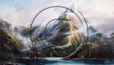 Mitre Peak Auckland New Zealand, Contemporary Artists, Landscape, World, Painting, The World, Scenery, Painting Art, Landscape Paintings