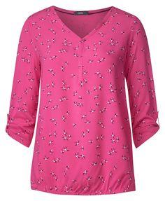 029dcac1d18d Cecil Karlie 3 4 Arm Shirt bubblegum pink   04057516891246 - Kategorie   Damen Bekleidung Shirts
