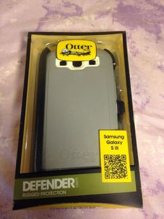 OtterBox Defender Series Case & Holster for Samsung Galaxy S3 Glacier White #OtterBox